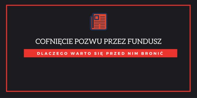Fundusz sekurytyzacyjny cofa pozew o zapłatę przedawnionego długu – dlaczego warto się przed tym bronić